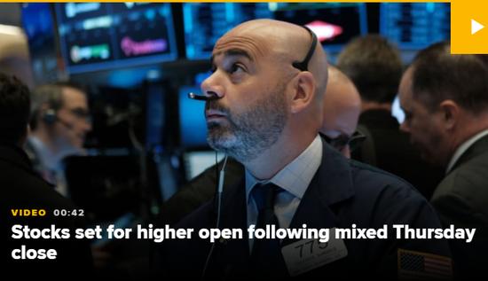 美股盘前:欧洲PMI数据向好 道指期货涨0.3%