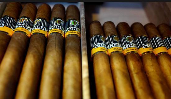中国成古巴雪茄最大市场