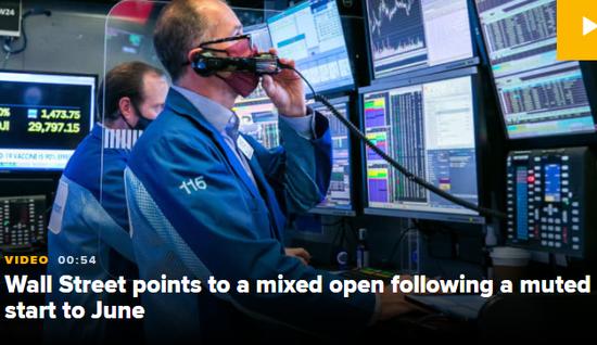 盘前:市场陷暴风雨前的平静期 道指期货涨0.1%