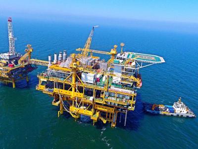 中海油升逾1% 美上周原油库存降