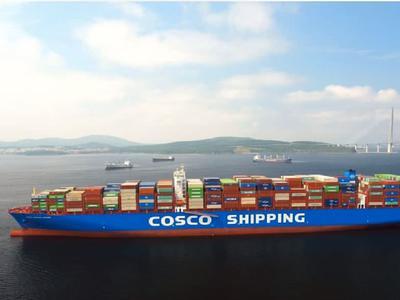 部分海运股走强 中远海控涨逾3%中远海能涨逾2%