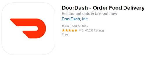 送餐初创公司DoorDash估值增逾一倍至
