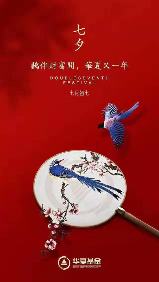 独家:一定终生!中国基金业20大公司七夕海报大赏