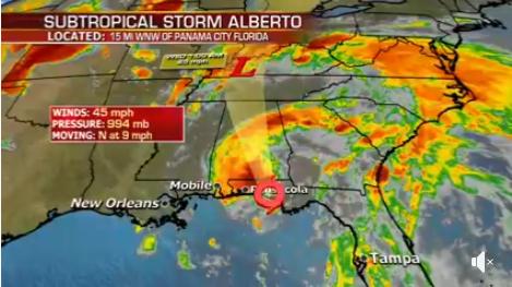 飓风阿尔伯托已登陆美国 农产品炒作不会停息