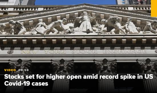 美股盘前:财报季本周开启 道指期货涨0.8%