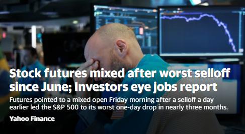 美股盘前:明星科技股继续下滑 纳指期货跌1.5%