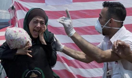 ▲2018年5月14日,巴勒斯坦人在加萨走廊大举示威,以色列军方实弹还击,造成惨重死伤