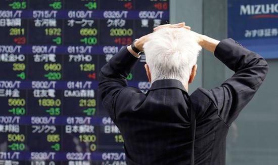 日股日经225指数一度跌逾4% 隔夜美股暴跌