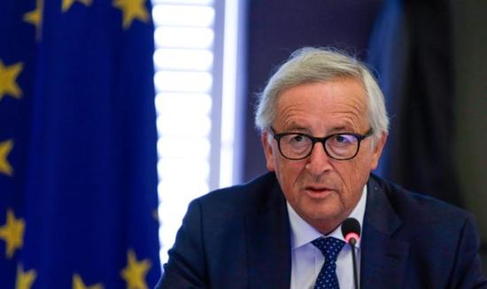 资料图片:2018年8月30日,比利时日内瓦,欧盟执委会主席容克出席一次会议 Aris Oikonomou/Pool via REUTERS