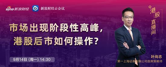 9月14日安信陈果、华夏嘉实长盛长安富国大通等直播解盘