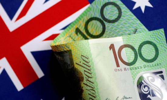 材料图片:2017年6月,澳元纸币。
