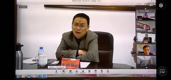 山西太钢不锈钢股份有限公司总工程师李建民接受中国日报记者采访