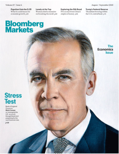 圖為《彭博市場》雜志封面