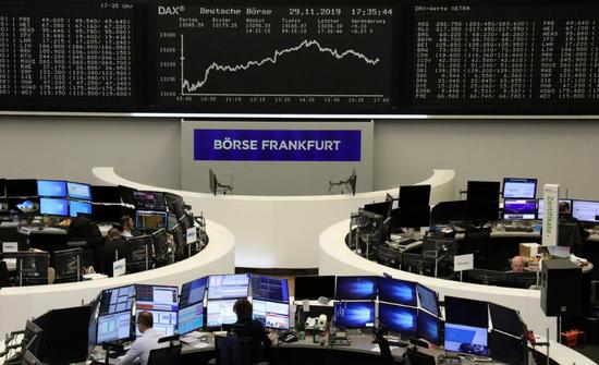 市场担忧贸易纷争再起 欧股连续四日收低