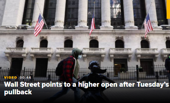 美股盘前:美联储纪要重磅来袭 股指期货走平