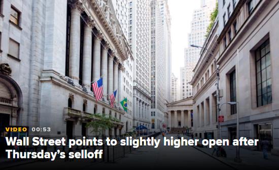 美股盘前:四巫日降临 道指期货跌0.2%