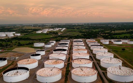 周三美油期货跌0.6% 布伦特原油跌0.9%