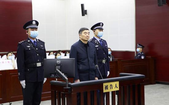 国开行原董事长胡怀邦被判无期徒刑:非法收受8552万