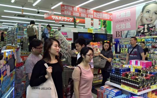 中国游客需求旺 资生堂市值首次突破3万亿日元