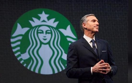 星巴克董事长将卸任 他会成为首位犹太裔总统吗?