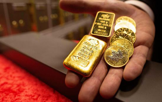 黄金期货周一收跌0.2%