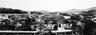 1983年前的南岭村。