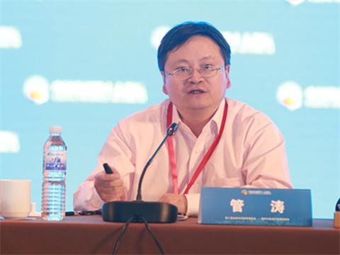 青岛市四十人金融教育发展基金会理事长、中国金融四十人论坛高级研究员管涛