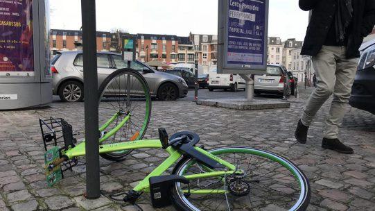 亚洲共享单车折戟欧洲市场 英媒感叹欧洲人素质堪忧