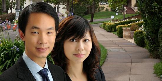 台湾出生的郑宇翔(Michael Cheng)和香港出生的林晓茵(Tina Lam)夫妇