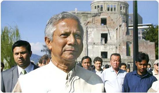 孟加拉国经济学家尤努斯