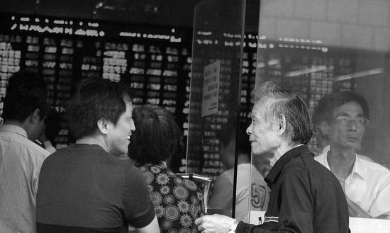 深发展给了很多老股民第一桶金。