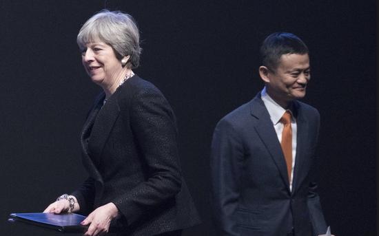 阿里巴巴会芝麻开门 马云成为英国首相的退欧导师