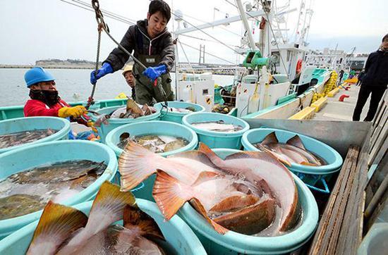 核事故发生七年后 日本福岛县鱼货首次销往国外