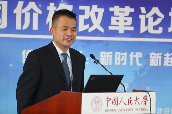 中国人民大学经济学院副院长郑新业