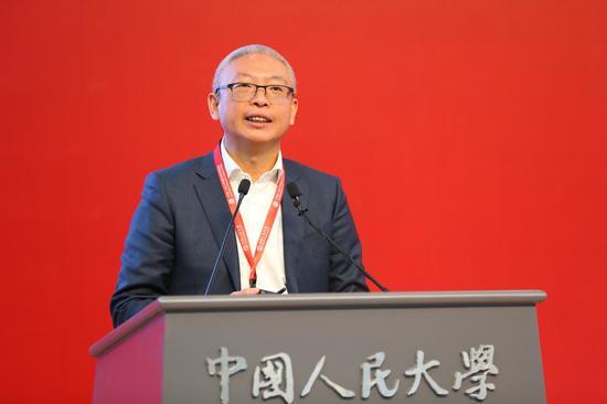 厦门国际金融技术有限公司董事长、中国进出口银行原副行长曹彤