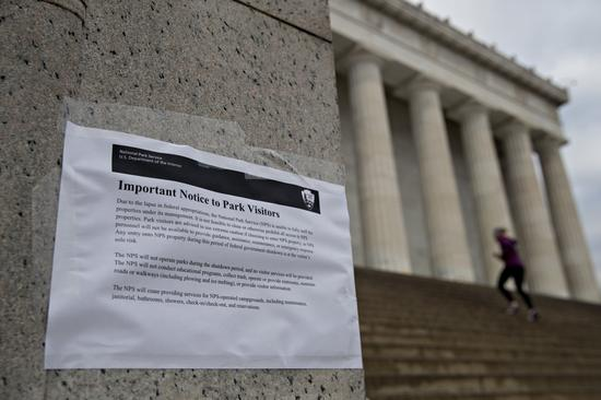 外媒:美国政府停摆料对美经济整体影响不大