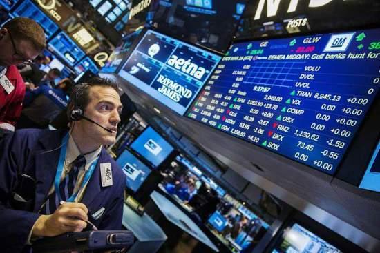 收盘:标普道指创半年最大单月涨幅 美股周二收涨