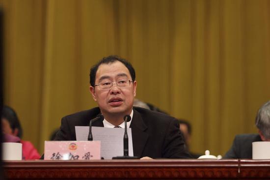 中央纪委驻中国人民银行纪检组组长徐加爱。资料图片