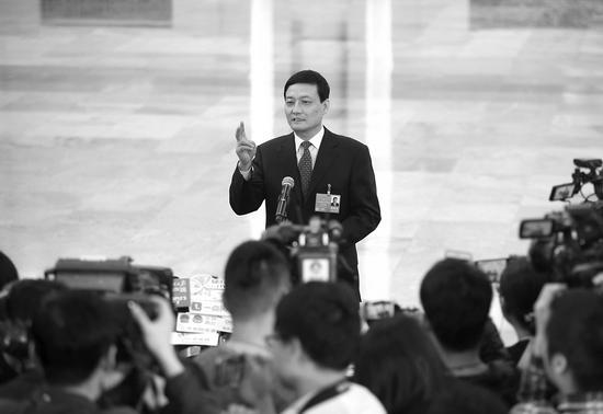 肖亚庆谈国企民企关系:两者竞争会产生新机会
