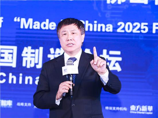 國家發改委學術委研究員、中國國際經濟交流中心首席研究員張燕生