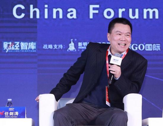 清华大学政治学系传授任剑涛