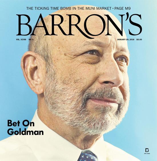 图为《巴伦周刊》杂志封面