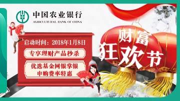中国农业银行:财富狂欢节