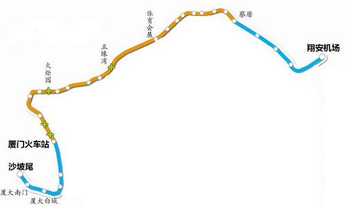 """17辆列车昨接力发车 地铁3号线开始试运行""""跑图"""""""