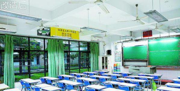 厦门50多所学校改用LED灯照明 可有效降低近视不良率