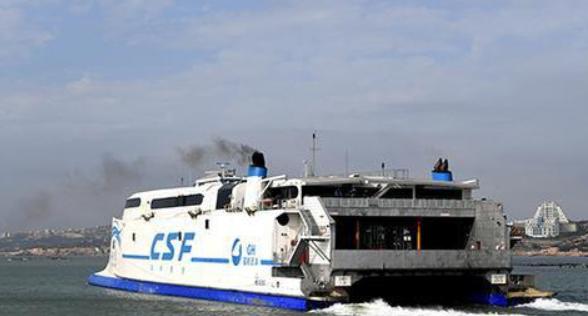 台湾海峡再掀9级大风 星际网址平潭赴台航线频停航