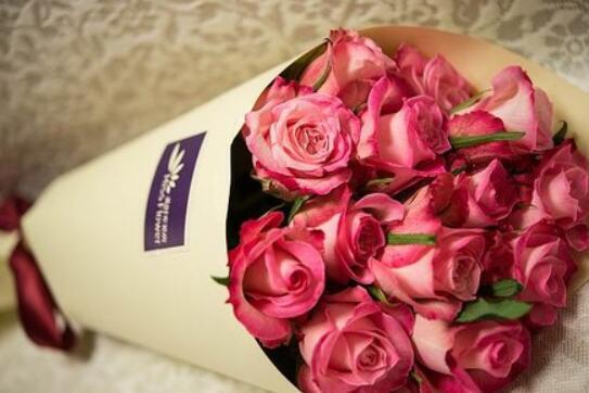 情人节外卖送花成时尚 福州人最爱紫玫瑰海洋之歌