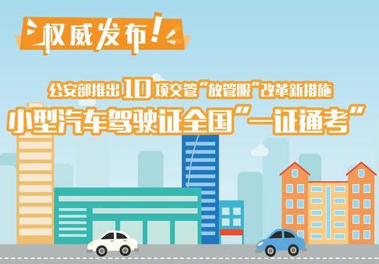 福建3地车辆6月1日起可网上转籍 还有十项新措施