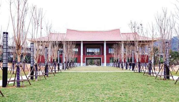 海沧开台文化公园本月底将完工 红砖红瓦闽南味十足