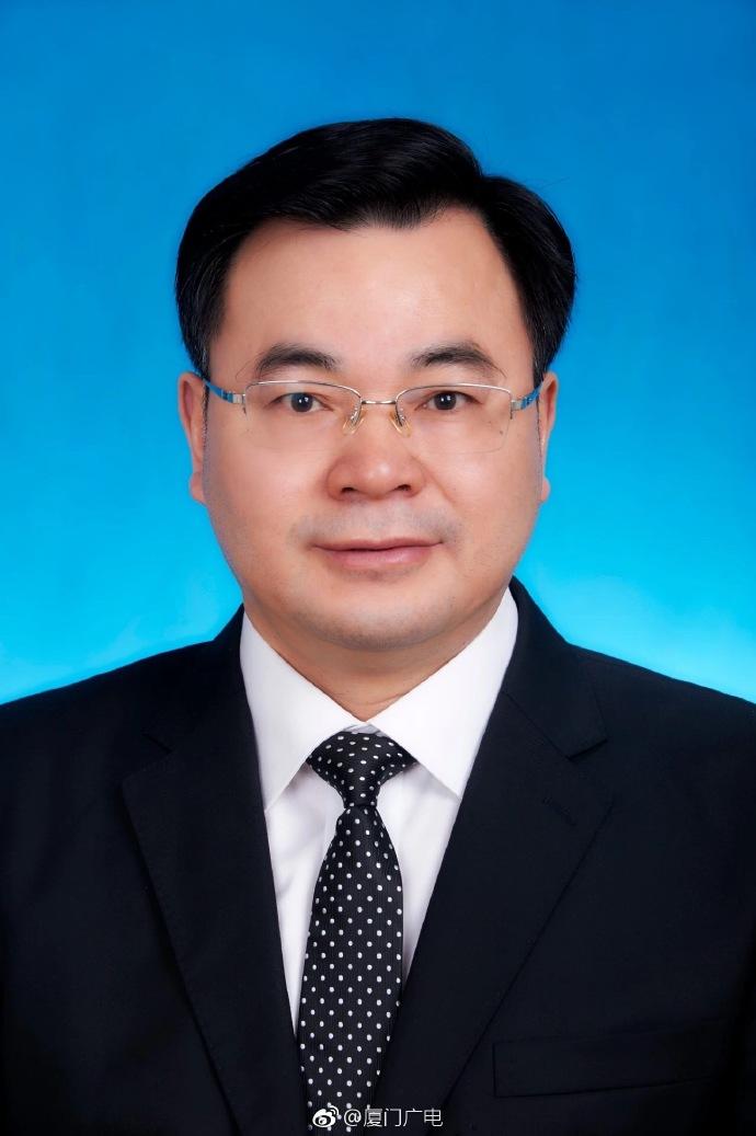 胡昌升任中共厦门市委书记